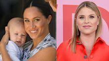 'Let's lift women up': Jenna Bush Hager defends Meghan Markle from online mom-shamers