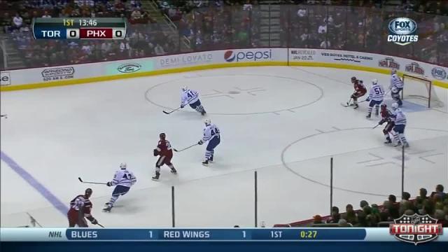 Toronto Maple Leafs at Phoenix Coyotes - 01/20/2014