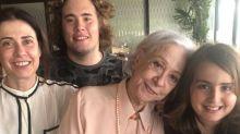 Fernanda Montenegro grava série com a família na quarentena