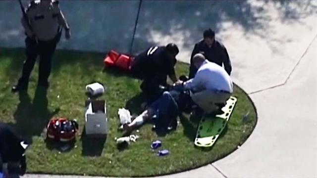 At least 14 wounded in stabbing attack at Texas college
