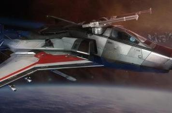 Get a closer look at Star Citizen's Gladiator bomber