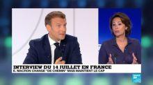 """Interview du 14 juillet : Emmanuel Macron """"a fait de la pédagogie et de l'explication"""""""