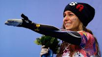 Noelle Pikus-Pace tears up talking about family