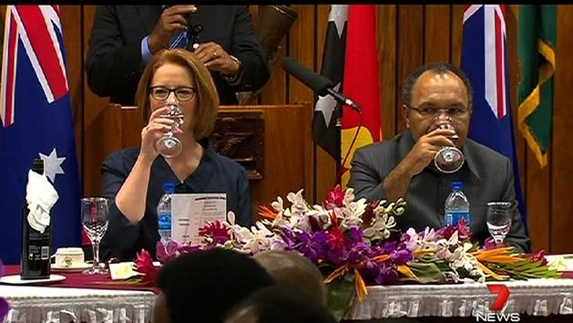 PM Gillard publicly criticised in PNG