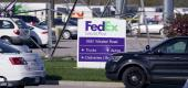 Multiple people were shot at the FedEx Ground facility early Friday morning in Indianapolis. (AP)