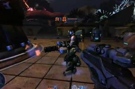 Firefall makes with the G-Star trailer explosions