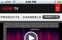 Adobe TV comes to iPad and iPhone