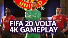 FIFA 20 - Volta Mode Manchester United Vs Tottenham Hotspurs 4K Gameplay | Gamescom 2019