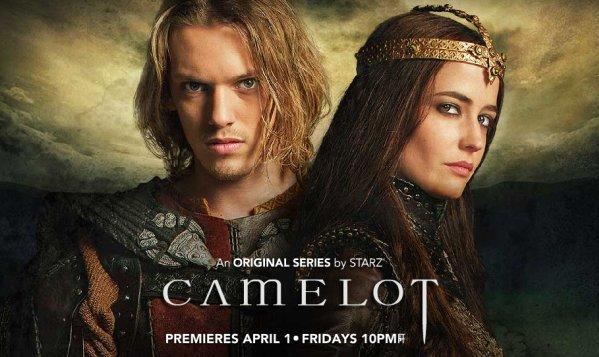 Starz will make Netflix viewers wait 90 days to see new original series, starting with Camelot