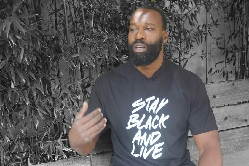 Markazi: Baron Davis is convinced that these protests will bring about long-term change