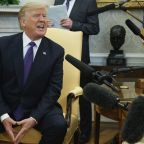 Donald Trump orders CNN's Jim Acosta 'out' of Oval Office after immigration questions