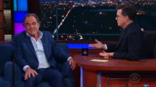 Oliver Stone Clashes With Stephen Colbert and 'Late Show' Audience Over Putin