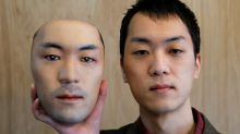 Wearing someone else's face: Hyper-realistic masks to go on sale in Japan