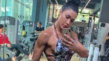 """Gracyanne sobre vida fitness: """"Sempre gostei de treinar, mas não tinha dinheiro"""""""