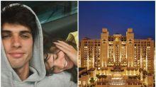 Hotel de lujo en el que se hospedan Laura Matamoros y su novio en Dubái