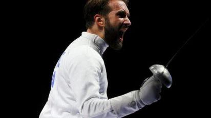 JO - Escrime (H) - L'escrimeur français Romain Cannone se qualifie en finale des JO de Tokyo
