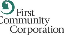 First Community Corporation Announces First Quarter Results and Cash Dividend