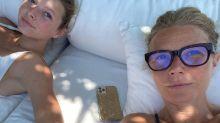 La reacción de la hija de Gwyneth Paltrow ante una foto de su mamá desnuda