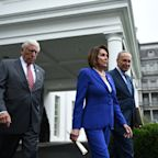 Democratic leaders walk out of meeting with Donald Trump on Syria, claim president had 'meltdown'