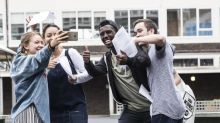 A-Level results day 2017 jubilation: thousands delight as percentage of top grades rises for first time in six years
