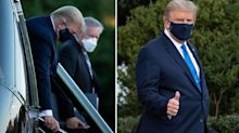 Donald Trump is hospitalised after being diagnosed with Covid