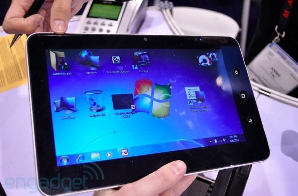 Azpen shows off dual, dual-boot Windows / Android tablets (hands-on)