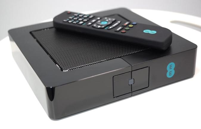 EE TV is a set-top box that streams video to your mobile devices
