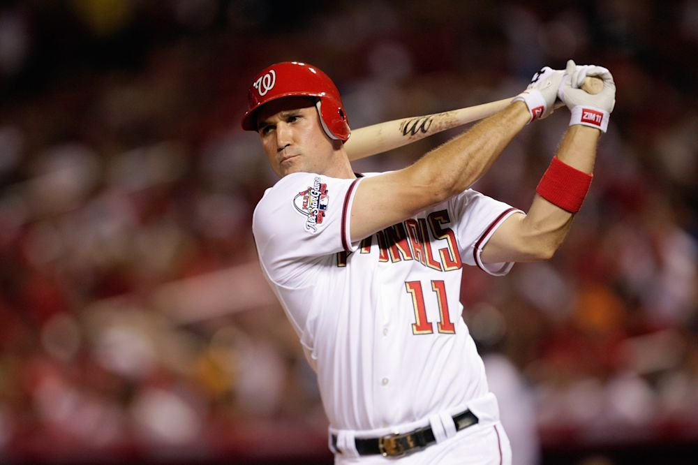 National League All-Star Ryan Zimmerman of the Washington Nationals takes a practice swing during the 2009 MLB All-Star Game at Busch Stadium on July 14, 2009 in St Louis, Missouri.