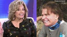 """Teresa Campos al ver a Edmundo Arrocet sin bigote: """"Qué horroroso es de feo"""""""