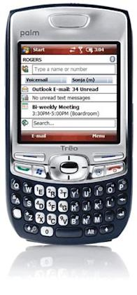 Rogers releases WM6-equipped Palm Treo 750