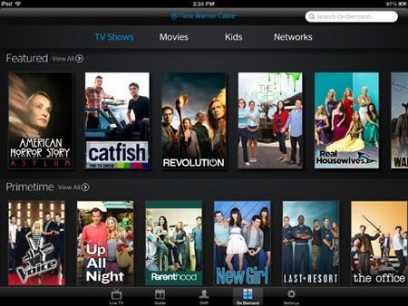 Time Warner Cable's iOS app updated with on-demand video