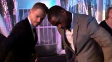 Derek Hough and Sterling K. Brown Have Epic Dance-Off While Mandy Moore Shares BTS Pic From 'This Is Us'