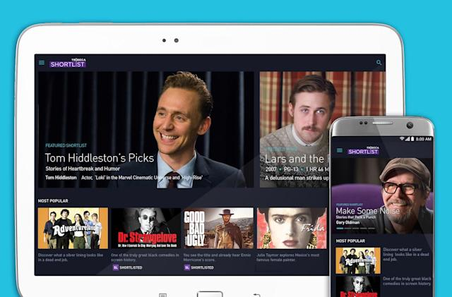 Tribeca Shortlist now streams movies on Android devices