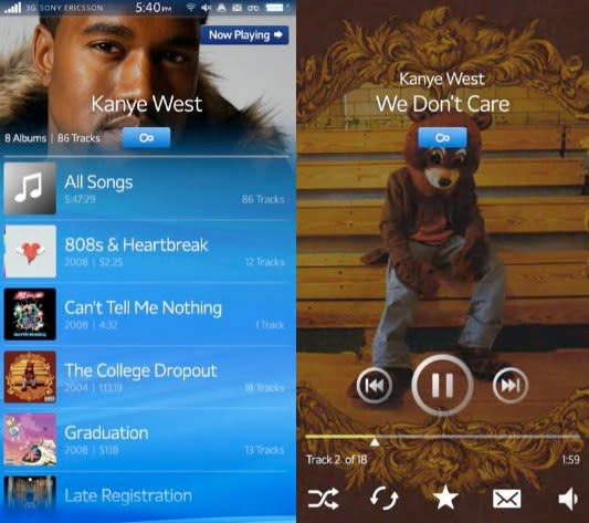 New Sony Ericsson Rachael UI video hits, still looks nothing like Android