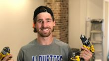 With CFL season cancelled, Alouettes' Félix Faubert-Lussier catches a new job in home renovation
