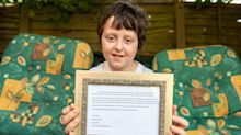 'It's on a special journey to the stars': Boy, 9, posts letter to heaven and receives touching reply from Royal Mail