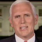 Mike Pence 'Can't Wait' for Kamala Harris Showdown: 'It's On,' He Says, Grimacing
