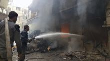 Rocket attack on Syrian capital kills 35 people