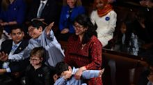 Women share pictures of their thobes after Rashida Tlaib is sworn in as first Muslim woman in Congress