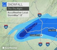 Millions in Southeast are seeing snowfall in quick-hitting winter storm; Charlotte, Raleigh under weather alerts