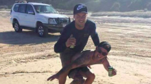 'Complete idiots' pictured surfing on a TURTLE could be fined £12,000