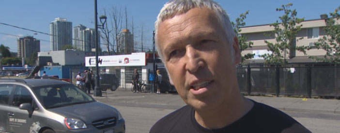 Pop-up supervised injection site hits Surrey streets