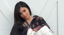 Kylie Jenner Just Posted a Photo of Stormi's Face