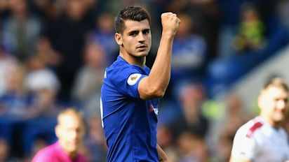 Morata aiming to fire Chelsea to glory