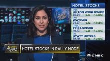 Hotel stocks in rally mode after Hilton reports strong re...