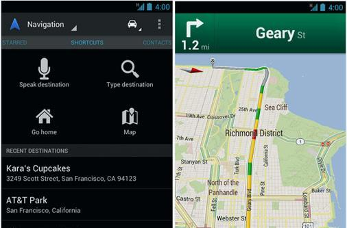 Google Maps for Android gets bumped to 6.5, new navigation view and higher resolution map tiles in tow