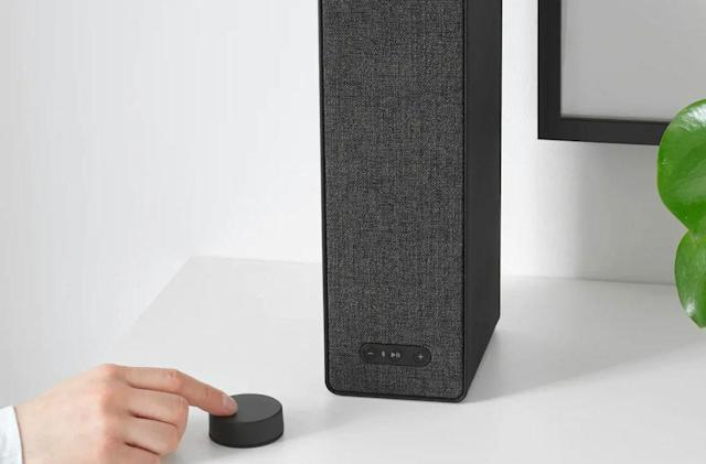 IKEA's remote for its Sonos-powered speakers ships October 1st