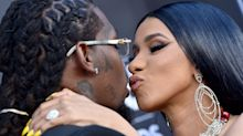Cardi B Was Spotted Kissing Offset A Month After Divorce Filing