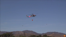 Marines Join the Fight Against California's Lilac Fire