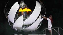 'The greatest honor': Osaka lights Olympic cauldron